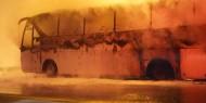 قتلى وجرحى بتفجير حافلة عسكرية في سوريا