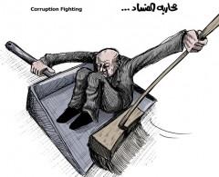 """""""مكافحة الفساد"""" السلطة أنشات شركات وهمية لسرقة المساعدات الدولية"""