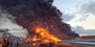 الاحتلال يتسبب بكارثة بيئية بعد قصف مخازن للمبيدات في العدوان الأخير