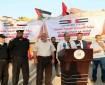 بالصور والفيديو|| وصول شاحنات محملة بمستلزمات للمستشفى الميداني الإماراتي
