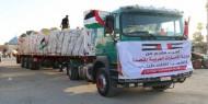 بجهود القائد دحلان.. وصول شاحنات محملة بمستلزمات المستشفى الإماراتي إلى غزة